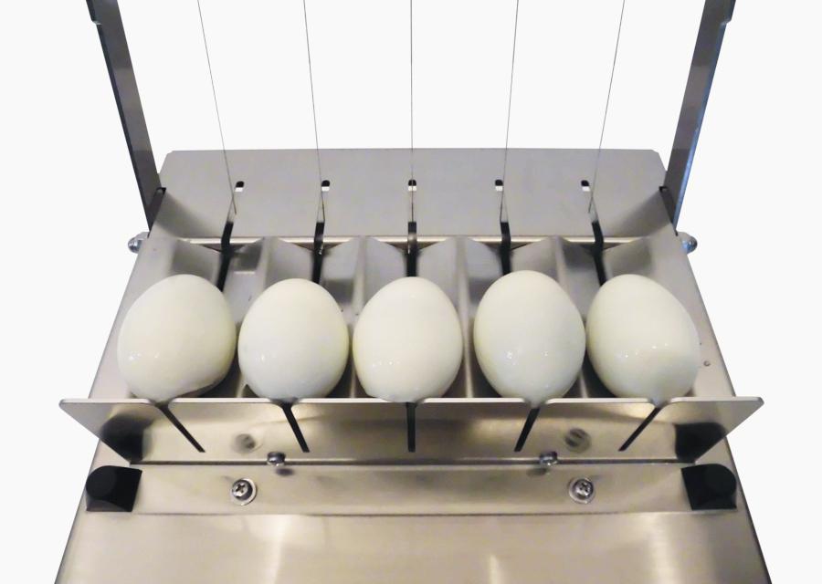 ゆで卵2等分カッター