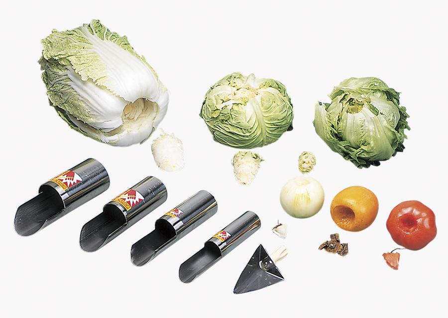 玉ねぎ・トマト用SSから大きな白菜用のLLまでサイズは5種類