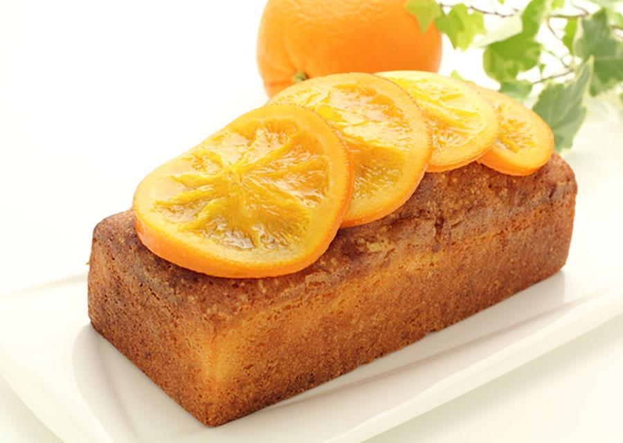 【カット例】オレンジも皮ごとキレイにスライス