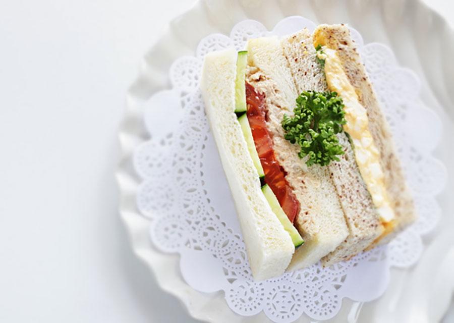 【カット例】サンドイッチにも