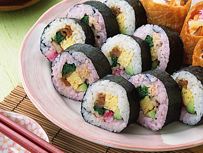 【活用例】巻き寿司用の巻き芯に
