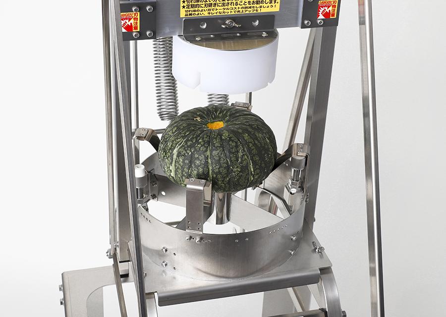 本体MPLL+かぼちゃ分割用の刃物部A4LKを装着した状態
