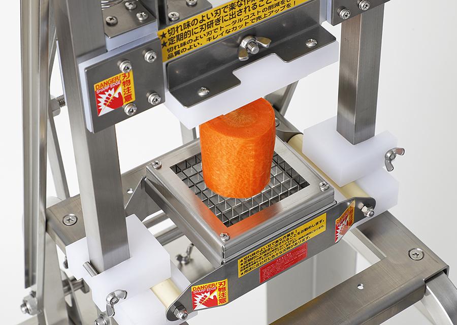 本体MPM+スティックカット用の刃物部H1を装着した状態